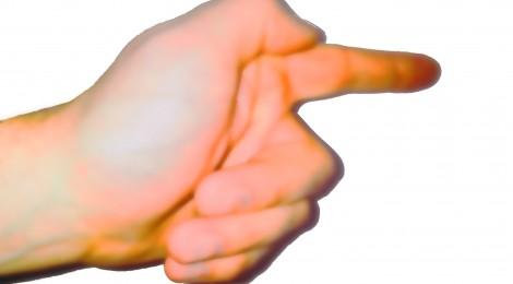 """""""Drie vingers"""", De samenleving bestaat niet.."""