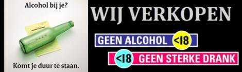 Alcoholwet: Horeca moet staan voor eigen verantwoordelijkheid.